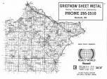 Index Map, Wright County 1985